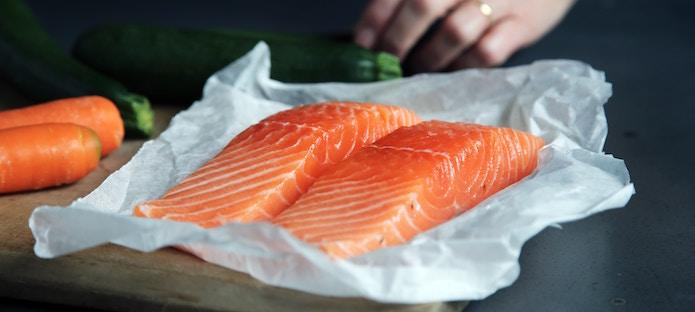 macro diet salmon