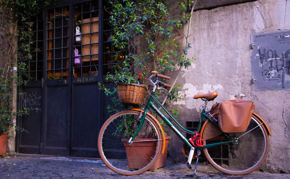 bicyclette Rome